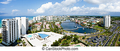 Destin Florida Emerald coast - Destin, FL, USA - July 24...