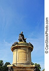 Gower Memorial, Stratford upon Avon - Statue of William...