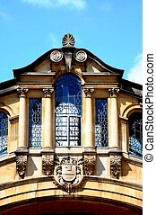 Bridge of Sighs, Oxford - Architecture detail of the Bridge...