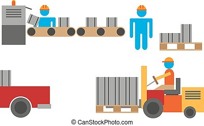 Manufacturing process - Work manufacturing process and...