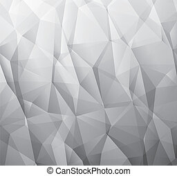 Abstract monochromatic background made from triangles -...