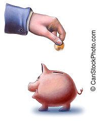 Pig savings