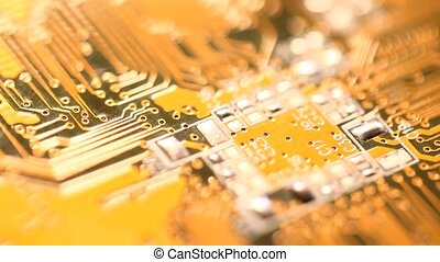 Circuit?board - Close up of an electronic?circuit?board?
