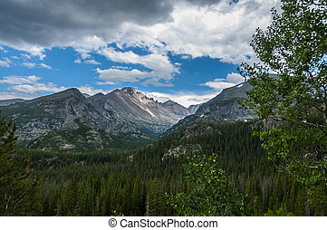 Longs, Storm Peak, Thattop Mountain- Rockies Colorado - The...