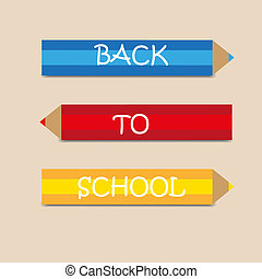 back to school background - back to school vector color...