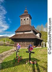 Wooden church in Uli?ské Krivé