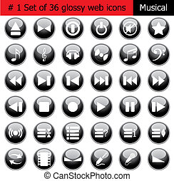 icon set #1 music