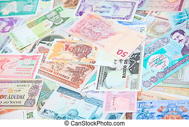 Foreign notes