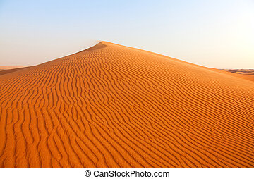 Desert - Red sand Arabian desert near Dubai, UAE
