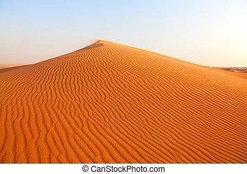 """Desert - Red sand """"Arabian desert"""" near Dubai, UAE"""