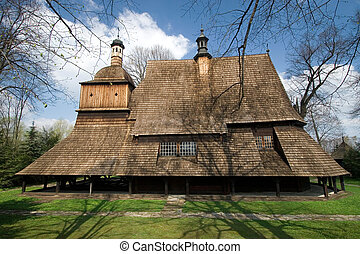 Wooden Church in Sekowa, Poland - Wooden Church builded in...