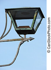 streetlamp - old iron streetlamp
