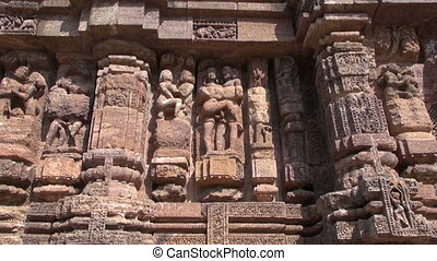Konark ancient erotic art - beautiful historical ancient...