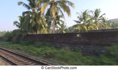 indian railway travel background, South India