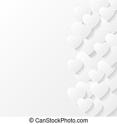 Abstract valentine background Vector illustration