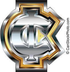 Fancy cent symbol