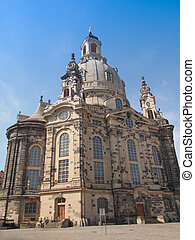 Frauenkirche Dresden - Dresdner Frauenkirche meaning Church...