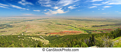 Wyoming Countryside Scenery