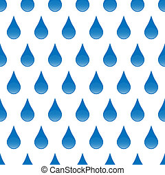 Drops seamless background - Seamless pattern with glossy...