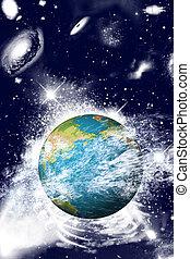 地球, スペース