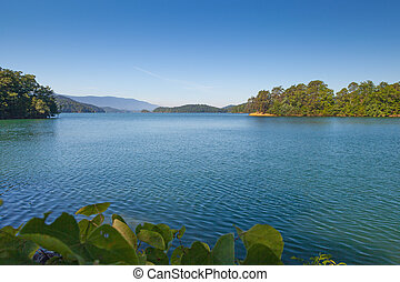 South Holston Lake - View from the shore at South Holston...