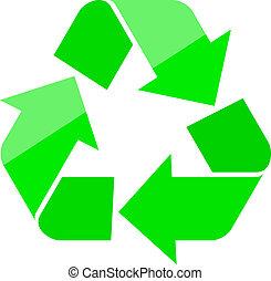 Recycle symbol - Vector recycle symbol