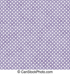 Light Purple and White Small Polka Dots Pattern Repeat...