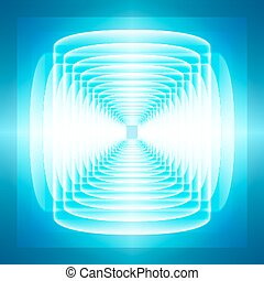 Abstract background, tehno rays of light.