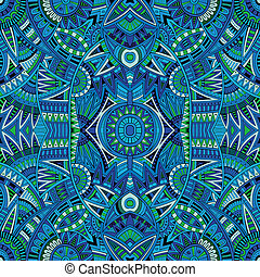 ethnic background seamless pattern - Abstract vector tribal...