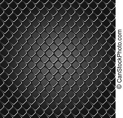 Metal grille - Seamless texture of metal grille