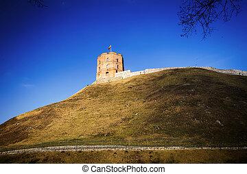 Tower of Gediminas - Gediminas tower in Vilnius, the capital...