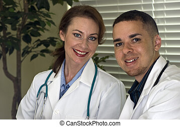 Doctors Smiling