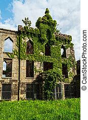 hospitalar, abandonado,  smallpox