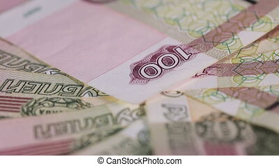 Russian money macro - Russian paper rubles in various...