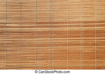 Bamboo mat - Bamboo stick straw mat background