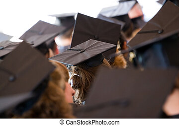 Group of Graduates - A group of college or high school...