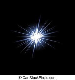 Lens Flare Star Burst