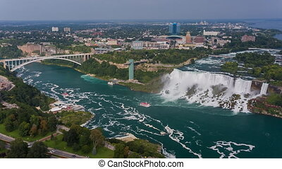Niagara Falls view Skylon Tower