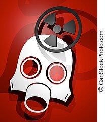 Mask radiation - Creative design of mask radiation