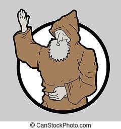 icon monk