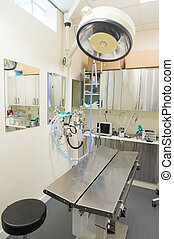 Equipment from the veterinarian - operating room from the...