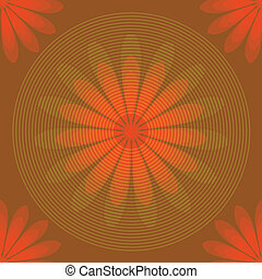 Seamless background - Seamless background with circle lines...