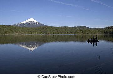 Mount McLoughlin Willow Lake Fishing