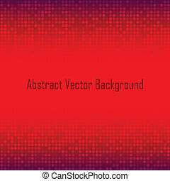 Abstract Red Technology Background
