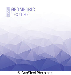 Abstract Gradient Dark Blue Geometric Background. Vector...