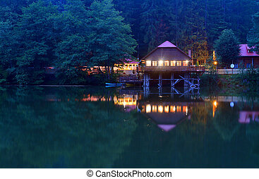 pontoon - mountain cabin and pontoon