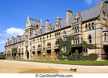 Christ Church College, Oxford. - The Meadow building which...
