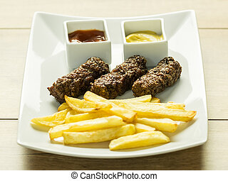 Traditional Romanian Mici - Traditional Romanian Food...