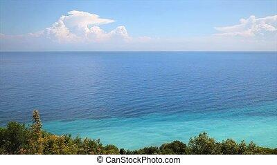 Sea and sky in Greece - Seaside in Greece, Mediterranean...