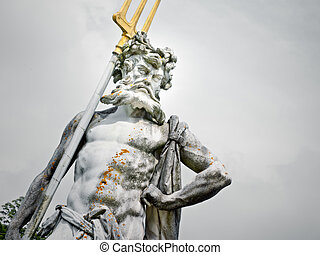 Neptune statue - An image of a nice Neptune statue